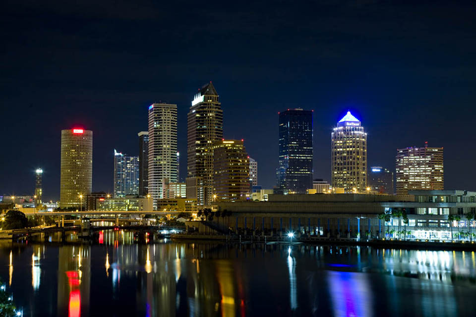 Downtown Tampa Tampa Changing